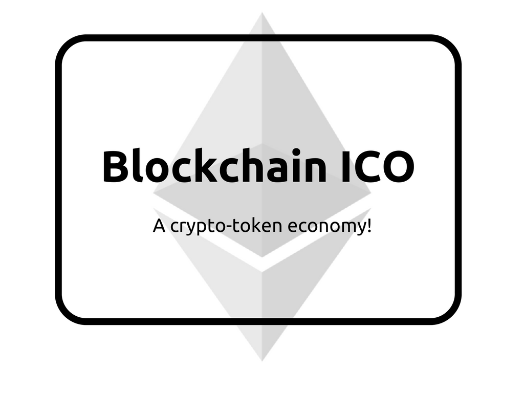 A business model to support new cryptocoin - Blockchain ICO tokenized system