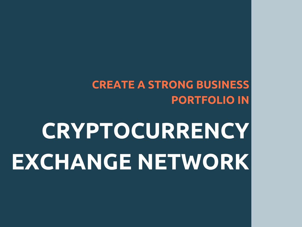 Cryptocurrency exchange software-To create your trading business portfolio in peer to peer blockchain network