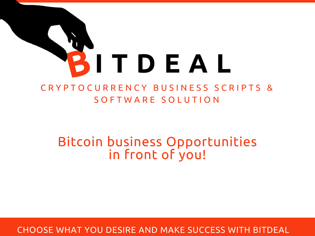 Bitdeal-Bitcoin Business Script and Software Solution for Cryptocurrency Startups